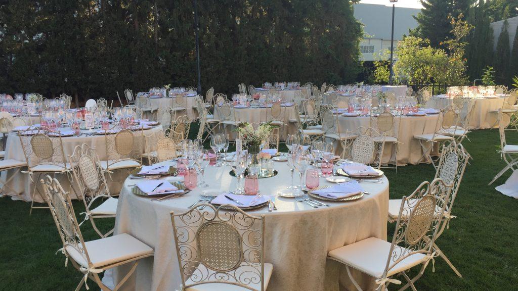 Los jardines - lugares para celebrar tu boda en Extremadura