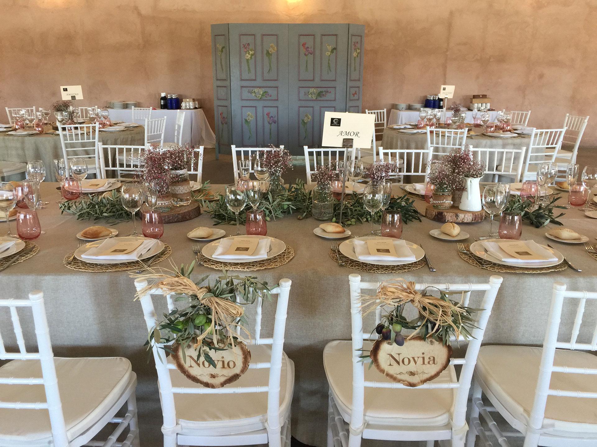 Organización de bodas y consejos