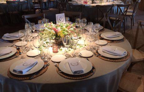 La Albuera mesa de boda