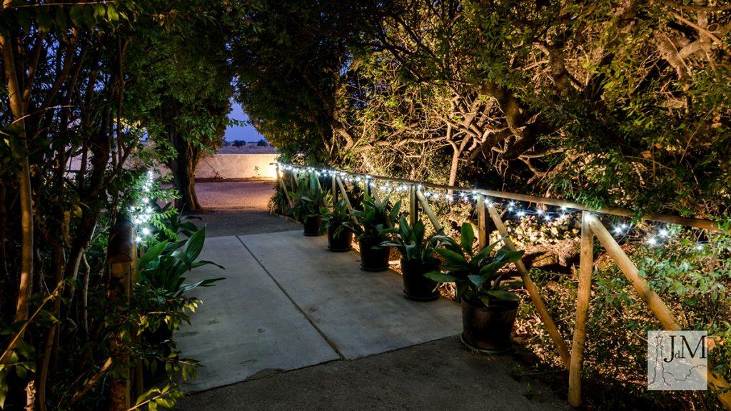 Los jardines de Morante - lugares para celebrar tu boda en Extremadura