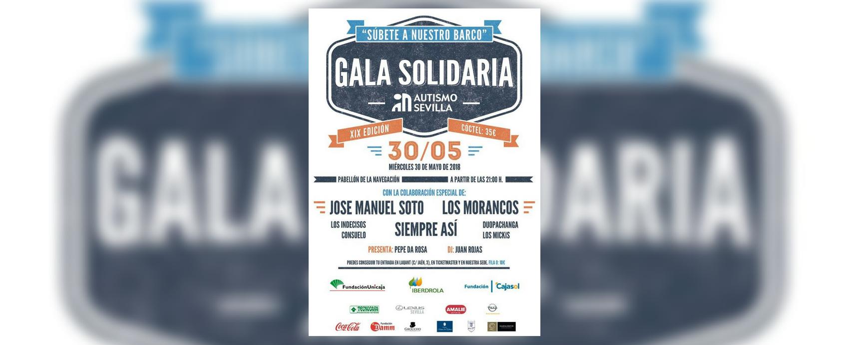 Gala Autismo Sevilla 2018