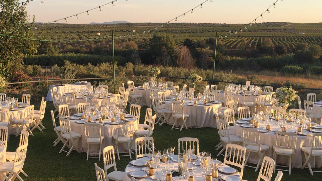 Finca Toribio - lugares para celebrar tu boda en Extremadura