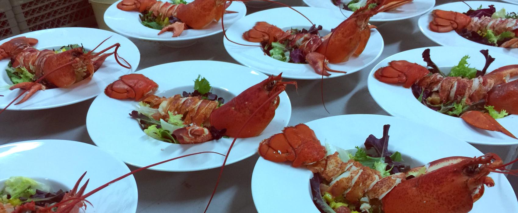 Gastronomía del evento