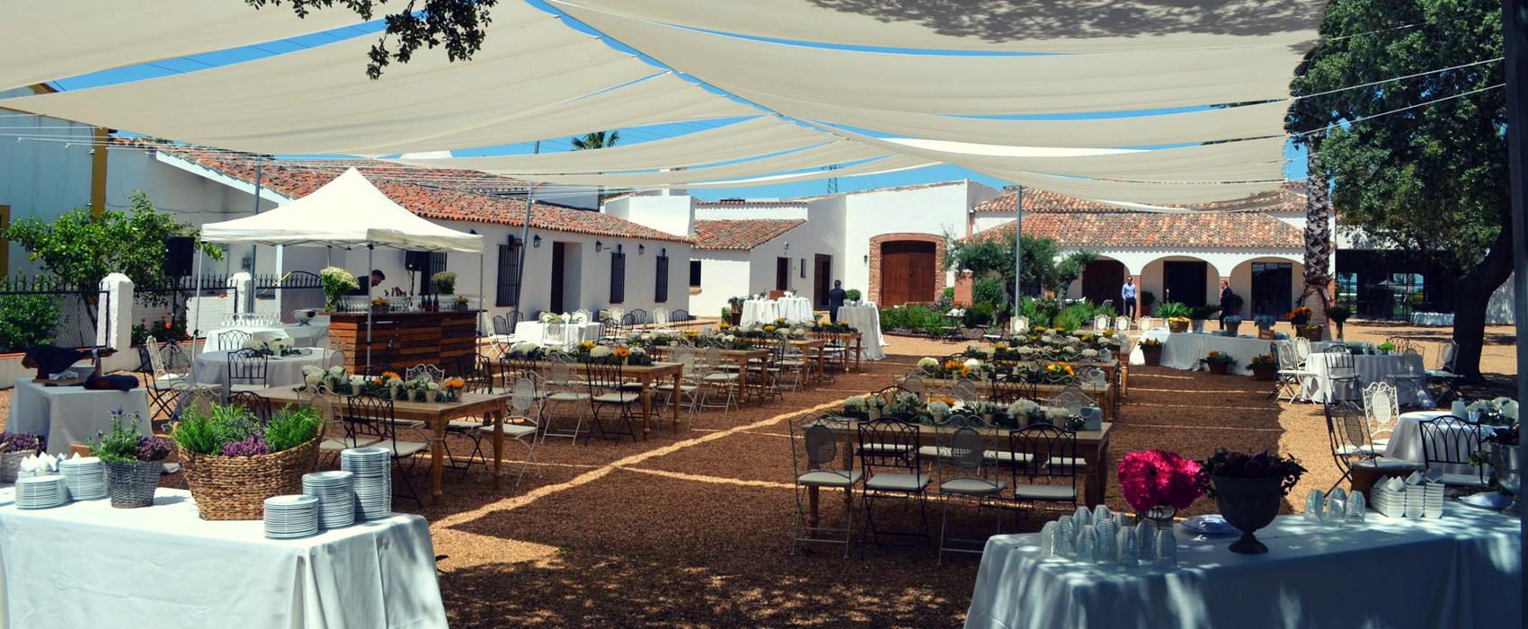 Los mejores espacios para celebrar bodas en Extremadura