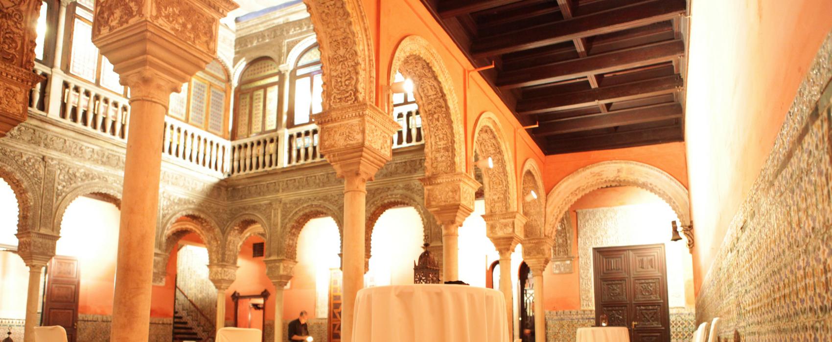 Los mejores palacios para hacer eventos en Sevilla